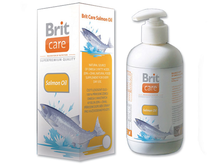 BRIT Care Salmon Oil 500ml