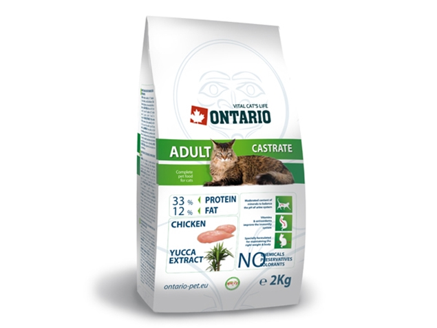 ONTARIO Cat Castrate 2kg