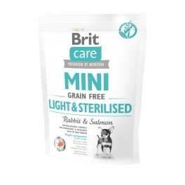 Brit Care MINI dog grain-free Light Sterilised 400g