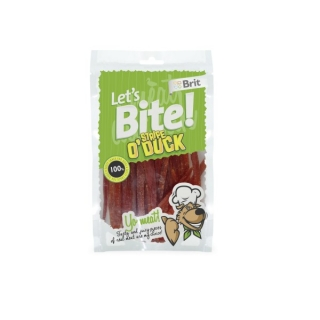 BRIT Care Let's Bite Stripe o' Duck 80g