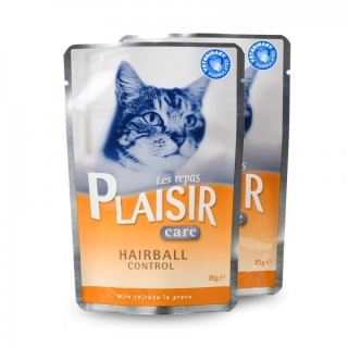 Plaisir Care Cat kapsička Hairball control 85g