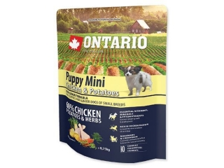 ONTARIO Puppy Mini Chicken & Potatoes 0.75kg
