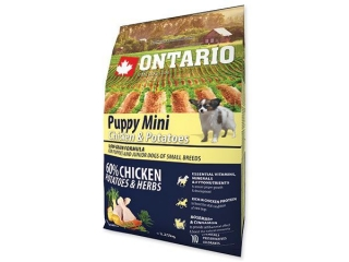 ONTARIO Puppy Mini Chicken & Potatoes 2.25kg