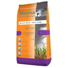 Nativia Castrated Duck&Rice 1,5kg