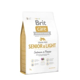 BRIT CARE Senior&Light - Salmon&Potato 3kg