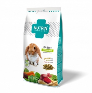 NUTRIN Complete Grain Free Vegetable -  Králík 400g