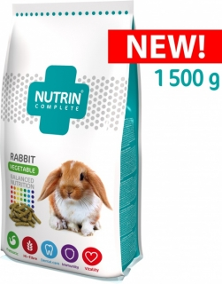 NUTRIN Complete Vegetable - Králík 1500g
