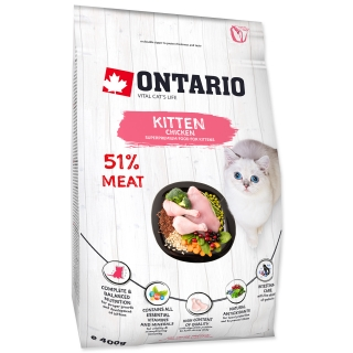 ONTARIO Kitten Chicken (0,4kg)